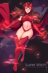 Scarlet Witch by 5-ish