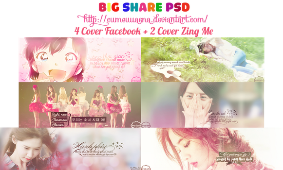 [Share PSD] Pack Quotes Cover by cumeuuaena by cumeuuaena