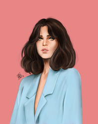 Felicity Jones by MissMorinth