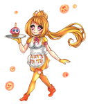 Chica, Let's Eat! by HatsuneSnow