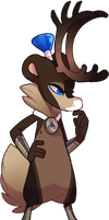 #197 Perfaunt - Reindeer -Auction- CLOSED by Sindonic