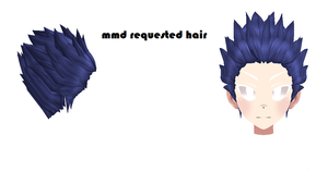 mmd requested hair dl by poopteller