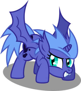 Luna Takes Off by imageconstructor