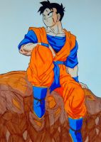Future Gohan by Daisuke-Dragneel