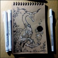 Sketchbook - Fantastic beast and magic balls by Candra