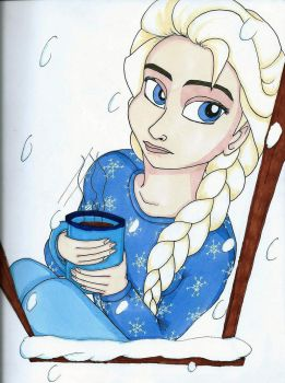 Hot cocoa and snowflake pj's by ETMili
