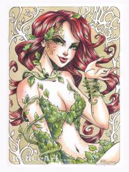 NYCC Poison Ivy by KelleeArt