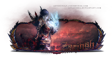 Sign  Lineage 2  - Feoh Wizard by LSTJapinha