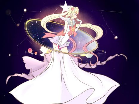 sailor moon fanart by Invader-celes