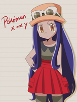 Iris Pokemon X and Y by KurumiErika