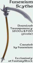 Funerium Weapon: Dragon Scythe by FantasyStock