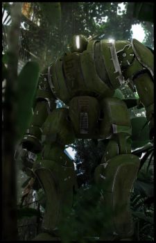 Jungle Mech by Pynion