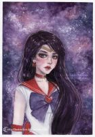 Sailor Mars by ARiA-Illustration