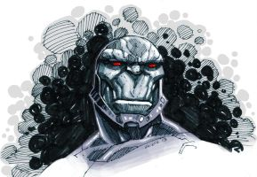 Darkseid sketch by dichiara