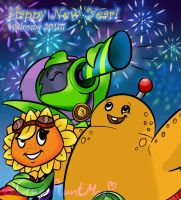Have a Happy New Year!(With Plant Team) by CrazyPlantMae