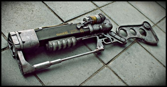 Fallout Laser Rifle AER9 by Urlag