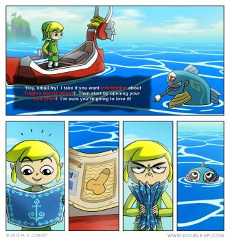 Tingle's Secret Island by mscorley