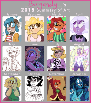 Year Of Art by Burgandy-Balloons