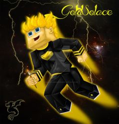 GoldSolace fanart by kareokelidescope