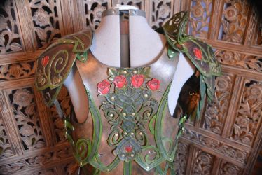 Briar Rose Elven Leather Armor by SavagePunkStudio