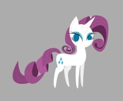 Rarity Vector by DayzeeHead