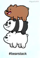We Bare Bears! by MiguelitoMA