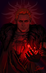 Cullen Dragon Age Inquisition by Pykhtik