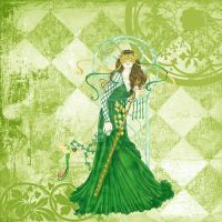 Enchantment in Green by LASEED