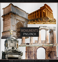 Monuments | Png Pack by sweetpoisonresources
