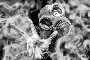 Something Gas Mask by andywakefield