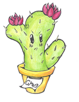 Art Fight Attack: Greg the Cactus by Katsumi-Draws