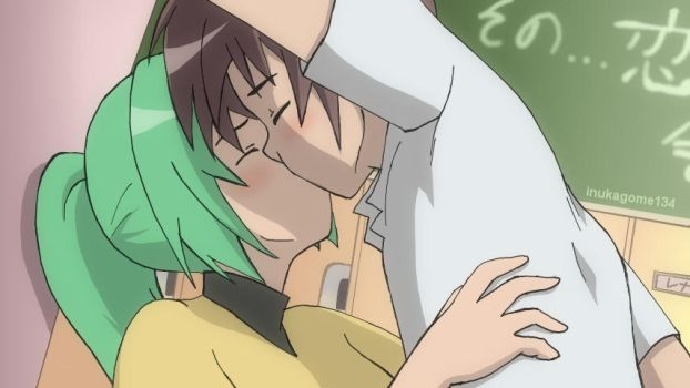 Keiichi and Mion's secret by inukagome134