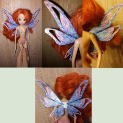 Bloom Tynix doll WIP wings by mackyca