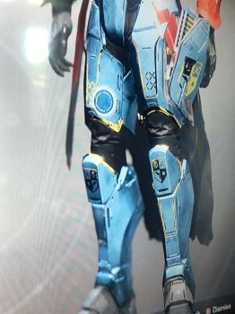 Destiny 2 exotic Titan boots peacekeepers by pugwash1