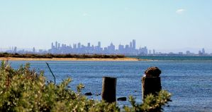 Melbounre from Point Cook. by wolftraz