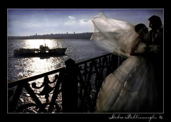 wedding at the Maidens Tower by Anahita