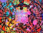 abstract mosaic by attilasebo