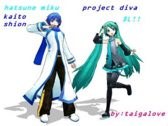 MMD ProjectDIVAstyle by taigalove