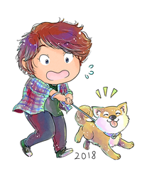 ToaG: Year of the Dog by TriaElf9