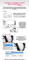 SCANNING AND CLEANING MANGA PAGES by Noiry