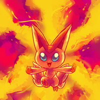 Victini used CompleteBurn