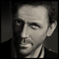 Actor - Hugh Laurie by AndyWYC