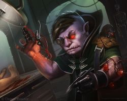 Marius Bota Dark Gnome Surgeon by MariusBota