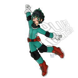Here I come joining the BNHA fandom by Electro-Sweaters