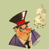 The Penguin by DustinEvans