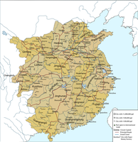 Map of the Northern Song Dynasty by HomemadeMaps
