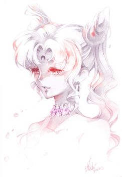 Sailor Moon: Black Lady by Naschi