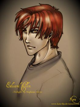 Edward Cullen by kara-lija