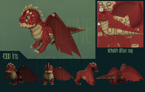 Red dragon by Whalzz