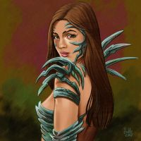 Daily Sketches Witchblade by fedde